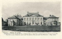 FLEURUS  / CHATEAU DE LA PAIX / SEJOUR DE NAPOLEON EN 1815 - Fleurus
