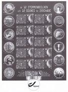GCA16 Feuillet  118 ND N/B  Les Signes Du Zodiaque Année 2011