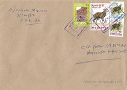 Ethiopia 2014 Yirga Chevie Monastry 3Br Antilope Cover - Ethiopië