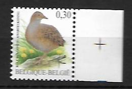 Belg. 2006 - COB N° 3478 ** - Râle Des Genets - Belgium