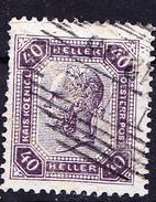 Österreich Austria Autriche -   Kaiser/Emperor/Empereur Franz Joseph/ (Mi.Nr.: 115) 1904 - Gest. Used Obl. - 1850-1918 Impero