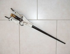 Baïonnette GRAS  Avec Son  PORTE-FOURREAU  En  BUFFLE  De 1874 - Knives/Swords