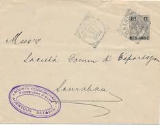 NED.-INDIE / INDIA NEDERLANDAISE - BATAVIA  - 1904 , Brief Nach Soerabaya - Niederländisch-Indien