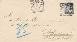NED.-INDIE / INDIA NEDERLANDAISE - SEMARANG  - 1903 , Brief Nach Batavia - Niederländisch-Indien