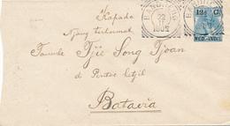 NED.-INDIE / INDIA NEDERLANDAISE - BANDOENG - 1902 , Brief Nach Batavia - Niederländisch-Indien