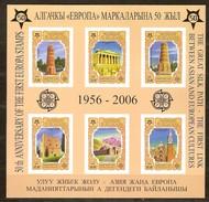 Kirghizistan Kyrgiztan  2005   Yvertn° Bloc 37 *** MNH Ongetand ND Cote 22 Euro 50 Ans Europa 50 Jaar - Europa-CEPT