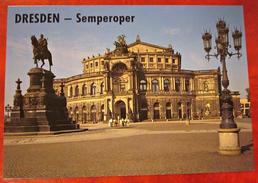 Ansichtskarte Postkarte Deutschland Dresden Semperoper Sachsen - Dresden