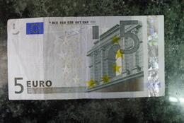 "RRRR 5 EURO ""V"" SPAIN M007F5  EXTREMELY RARE - EURO"