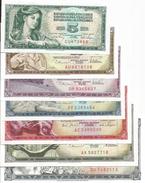 Yugoslavia 1965-1981. Banknote Set UNC - Yougoslavie