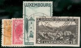 Luxemburg Yvert/Prifix 223 250/51 274 TB Sans Défaut Cote EUR 44,50 (numéro Du Lot 17IL) - Used Stamps
