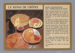 FR.- . LE REPAS DE CRÊPES. REPAS TRADITIONNEL DES - CRÊPES RÉCHAUFFÉES - 2 Scans - Recepten (kook)