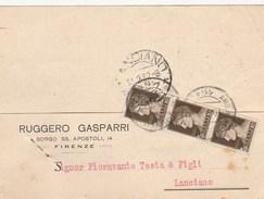 5756.   Ruggero Gasparri - Firenze - Commerciale Vendita Olio - 1932 Per Lanciano - Commercio
