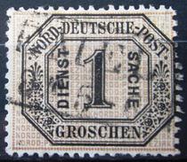 Conf.de L'all.du Nord               Service 4                    OBLITERE - North German Conf.