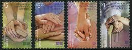 HONG KONG 2014 - Journée International De La Famille - 4 Val Neuf // Mnh - 1997-... Chinese Admnistrative Region