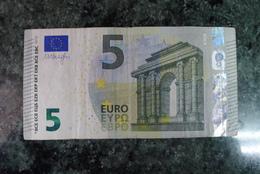 RARE  5 EURO AUSTRIA N015F4 Draghi - EURO