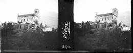 H0241 - SUISSE - VIEGE - Plaques De Verre