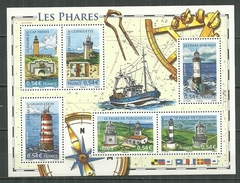 FRANCE MNH ** Bloc 114 Les Phares - Blocs & Feuillets