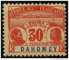 Dahomey (1906) Taxe N 5 * (charniere)