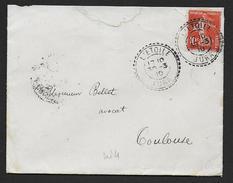 Jura - Cachet Pointillé De  L' ETOILE - Marcophilie (Lettres)