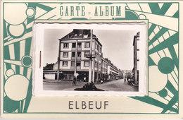 ¤¤  -   ELBEUF   -  Carte à Système  -  Carte-Album  -  7 Vues  -  ¤¤ - Elbeuf