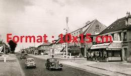 Reproduction D'une Photographie De La Route D'Orléans Devenant La RN20 En 1950 - Reproductions