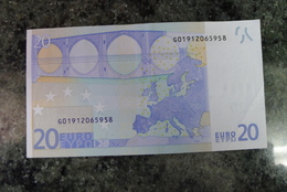 RRR RARE 20 EURO G CYPRUS TRICHET G010C3 - EURO