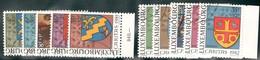 Luxemburg Yvert/Prifix Caritas 1981/86 TB Sans Défaut Cote EUR 73,50 (numéro Du Lot 40NL)