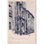 PLNCTPA140CPA-LFTD8804TARI.Tarjeta Postal DE PALENCIA.Edificios,puerta De La IGLESIA DE SAN BERNARDO  En PALENCIA - Iglesias Y Catedrales