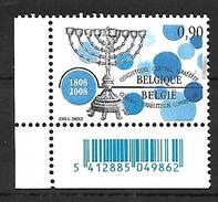 Belg. 2008 - COB N° 3766 ** - La Communauté Juive En Belgique - Unused Stamps