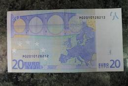 RARE 20 EURO P NETHERLANDS DUISENBERG G001H5 - EURO