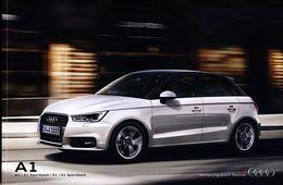 Audi A1 2016 Catalogue Brochure Polonais Rare - Publicités