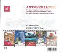 Belg. 2008 - COB N° 3767 à 3771 ** - Antverpia (bloc 153) - Blocks & Sheetlets 1962-....