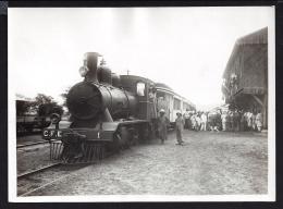 Photo Format 13cm X 18cm Dire Dawa Un Train En Gare Photo Jacques Boyer - Ethiopia