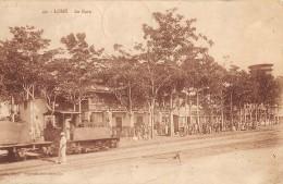 CPA Lomé La Gare Et Le Train - Togo