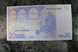 20 EURO U FRANCE DUISENBERG E001A3 - EURO