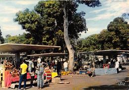 """05277 """"REPUBLIQUE DE LA COTE D'IVOIRE - ABIDJAN - LE PARC"""" ANIMATA, MERCATO. CART NON SPED - Costa D'Avorio"""