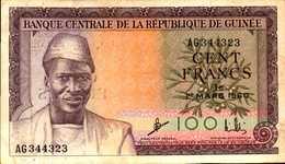 GUINEE 100 FRANCS Du 1er MARS 1960  Pick13 - Guinée
