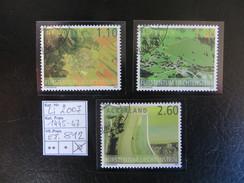 """2007  """" Lichtenstein Von Oben """"  Satz Ersttag Gestempelt    LOT 812"""