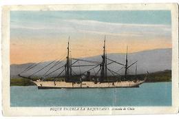 Buque Escuela La  Baquedano  Armada De Chile - Warships