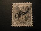 Schweiz Dienst 1942  Official Michel 54 (20%) - Officials