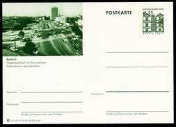 79202) BRD - Bildpostkarte P 86 - A17/127 - * Ungebraucht - 15Pf Tegel - Bochum, Hauptbahnhof Mit Europahaus - Bildpostkarten - Ungebraucht
