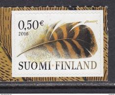 Finland 2016 . Feather . MNH. Pf.**