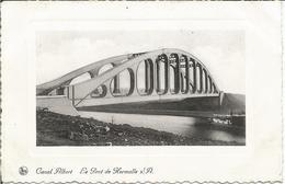 Canal Albert. Le Pont De Hermalle S/A.  (scan Verso) - Oupeye