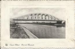 Canal Albert. Le Pont De Haccourt.  (scan Verso) - Oupeye
