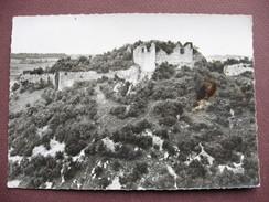 CPA CPSM PHOTO 21 MALAIN Ruines Du Chateau Féodal Vue Aérienne RARE PLAN  RAPPROCHé 1960 Canton TALANT - Autres Communes