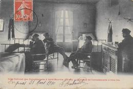 94)   SAINT  MAURICE  - Asile National Des Convalescents -  Chambre De Convalescents à Trois Lits - Saint Maurice