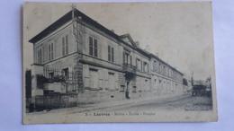 Louvres Mairie , école , Hospice - Louvres