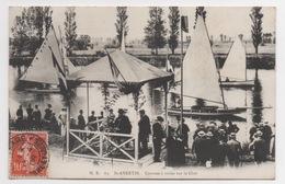 37 INDRE ET LOIRE - SAINT AVERTIN Courses à Voiles Sur Le Cher - Saint-Avertin