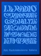 RAI LA RADIO ..CI ACCOMPAGNA IN OGNI MOMENTO DELLA GIORNATA CONCORSO TOTOVETRINE PIACENZA 1967 - Pubblicitari