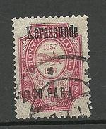 RUSSLAND RUSSIA 1909/10 Levant Levante KERASSUNDE Michel 41 VI O - Turkish Empire